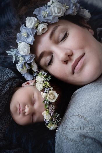 Familienbilder im Rahmen von Babyshootings