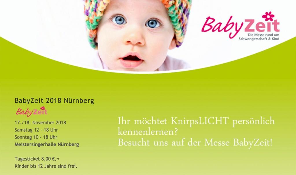 Besucht uns auf der BabyZeit Messe in Nürnberg