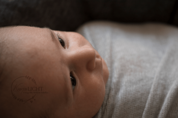 Detailaufnahme vom Baby