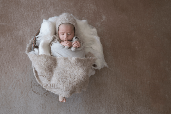 Babyfotos im Tageslichtstudio von der Babyfotografin in Nürnberg