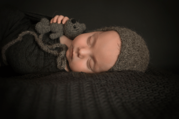 Babyshooting im Atelier in Nürnberg Katzwang