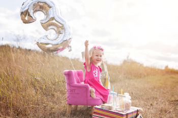 Geburtstagsshooting in der freien Natur