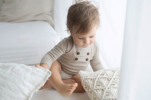 Babyfoto Sitzkind